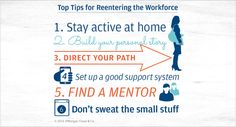 Managing Your Own Path: Six Tips For Women Reentering The Workforce