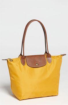 8056ffb75e The nylon counterpart to my favorite leather bag. Longchamp  Le Pliage   Medium Shoulder
