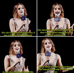 AWWWW she called him hansom😍 Harry Potter Puns, Harry Potter Feels, Harry Potter Cast, Harry Potter Characters, Emma Watson Quotes, Harry Potter Wallpaper, Disney Beauty And The Beast, Disney Memes, Queen