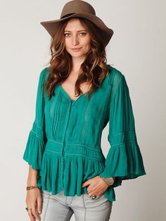 Free People Victorian Inset Tunic, $128.00