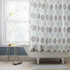 Dot Medallion Shower Curtain