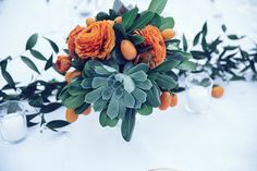 My dad calls me kumquat-- is there a way to integrate them into my bouquet or perhaps in his boutineer?