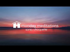 Gentle Release Guided Meditation by Sonia Choquette ~ Hay House Monday Meditations - Published on Apr 5, 2015 Sink into bliss during this gently guided meditation with intuitive Sonia Choquette. As you begin to relax deeper into your conscious divine self, you'll feel a lightness and peace wash over you. Your problems will disappear from your mind and you'll tap into the infinite wisdom that is always available to you. YouTube