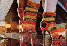 meias de lurex... Dancing Days