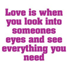 When you look into someone's eyes and you see everything - That's called the true love http://www.evematch.com?utm_source=tumblr&utm_medium=social&utm_campaign=tumblr #Lesbian #Gay #Love #Positivity #Inspiration #Quote