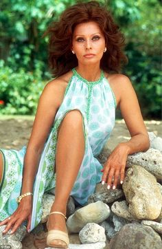 Legend: Sophia (pictured in 1978) is one of the film industry's most iconic actresses