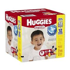 Huggies Snug and Dry Diapers - Size 6 - 60 ct