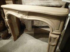 LOUIS XV Stone Fireplace #renaissancelondon