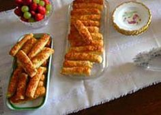The best ever Hungarian Cheese Sticks (sajtos rud) Hungarian Cheese Sticks (Sajtos Rud) – this recipe came from my Aunt Agi in Budapest. I have done my best to convert to imperial measures, but to be sure, you should use the metric. Cheese Sticks Recipe, Cheese Recipes, Cooking Recipes, Bread Recipes, Cooking Tips, Croatian Recipes, Hungarian Recipes, Cheese Appetizers, Appetizer Recipes