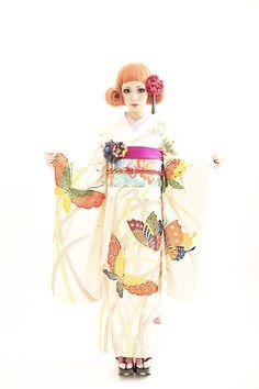 Tsurezure from Takashima Dali Hair and Kimono Design