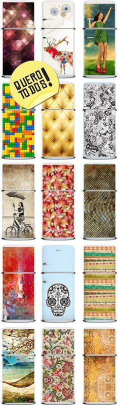 adesivos geladeira www.decorviva.com.br: