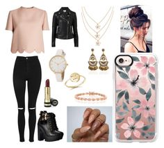 """""""Sans titre #1887"""" by tronchehilarion on Polyvore featuring mode, Valentino, Topshop, Witchery, Casetify, Gucci, Bing Bang et Bling Jewelry"""