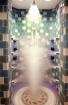 Silver Tag Shower. Wow.