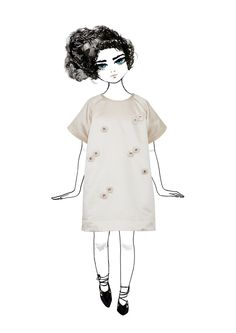 Tulsi Dress from the Pale Cloud Autumn Winter 2015 Collection
