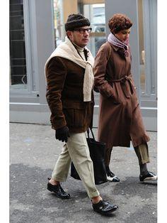 【MEN'S CLUB】暖かさの中にミラノの十八番