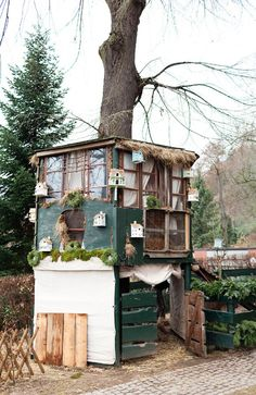 This is an incredible chicken coop!
