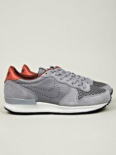 nike kicks: grey & leather