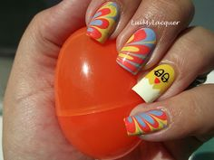 No how tos but a lot of gorgeous nail designs