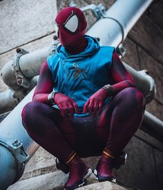 """""""There has to be a Spider-guy out there. I'm just not sure which of us it sh… - Marvel Fan Arts and Memes Epic Cosplay, Male Cosplay, Amazing Cosplay, Cosplay Girls, Cosplay Ideas, Marvel Dc, Marvel Heroes, Spiderman Cosplay, Spiderman Homecoming Costume"""