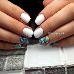 Beautiful nails 2017, Beautiful summer nails, Exquisite nails, Fresh nails, Nails ideas 2017, Party nails, Square nails, Unusual nails