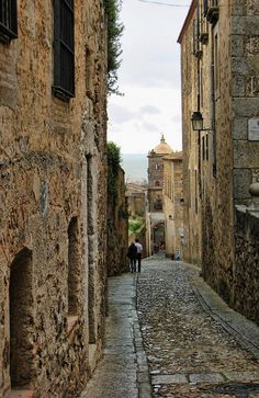 Street in Caceres | Flickr: Intercambio de fotos