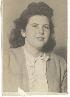 Daisy Travilla Colley - Cherokee - circa 1945