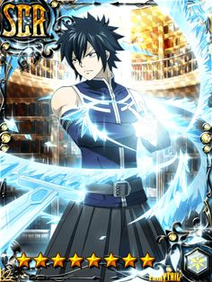 Great Fullbuster in all his clothed glory Fairy Tail Juvia, Fairy Tail Gray, Fairy Tail Anime, Fairy Tail Games, Fairy Tail Couples, Natsu And Gray, Got Anime, Fairy Tail Pictures, Fairy Tail Characters