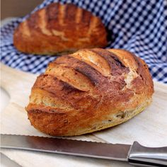 My husband spent a year in Italy living in an apartment right above a bakery. His standard for bread is high. Pressure much? I've been forced to develop my baking skills and I do my best to replicate that Italian bakery taste at home. Rye is one of my husband's favorite. It is a bread...