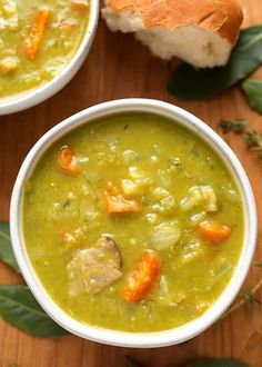 Instant Pot Split Pea Soup is a favorite classic comfort food. Made with leftover ham, or bacon, ham hocks, or vegetarian, this is a flavorful soup. Make this split pea soup in your electric pressure cooker in about an hour.