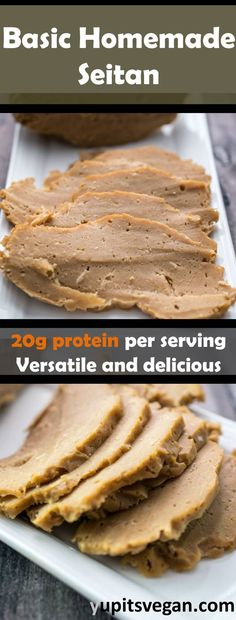 Basic Homemade Seitan | An everyday seitan recipe that is easy to make, protein-packed, and healthy!