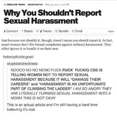 This is completely unacceptable. There are no words to describe how horrific this is. This is exactly why the world needs feminism. I'm literally crying I cant believe this is the world I live in Intersectional Feminism, Believe, Visual Statements, Words To Describe, Patriarchy, My Tumblr, Faith In Humanity, Look At You, Social Justice