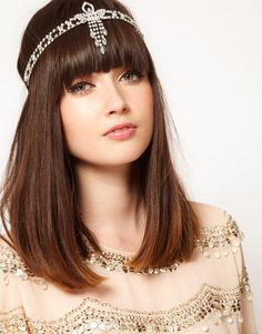 Pix For > Flapper Hairstyles For Long Hair With Headband