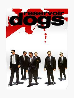 Reservoir Dogs Poster by dwilliams5391