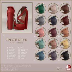 Ingenue - Natala Heels