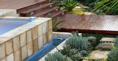 A natural swimming pool completely eliminates the need for chemicals and constant cleaning. We are installers of Natural Swimming Pools Natural Swimming Pools, Cool Deck, Wooden Decks, Decking, Landscapes, Outdoor Decor, Nature, Natural Pools, Paisajes