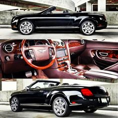 Luxury living - Bentley Continental Convertible