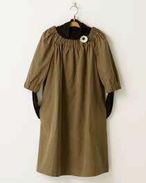 pindot/ホームクチュール/ワンピースそのまま着ても、重ねて着ても Japanese Sewing Patterns, Short Sleeve Dresses, Dresses With Sleeves, Shirt Dress, T Shirt, Couture, Shopping, Fashion, Supreme T Shirt