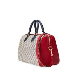 GG Supreme top handle bag