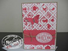 Stampin' Up! Extra Large Oval punch, Elegant Butterfly punch, Chalk Talk stamp set, Mosaic Embossingfolder