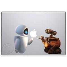 macbook pro disney decal   Crazy Cool Apple Macbook Vinyl Decal Laptop Stickers