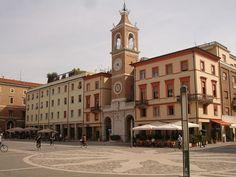 Rimini piazza tre martiri.ITALIA