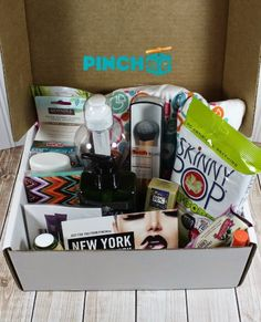 get your free pinchme sample box in the mail click here
