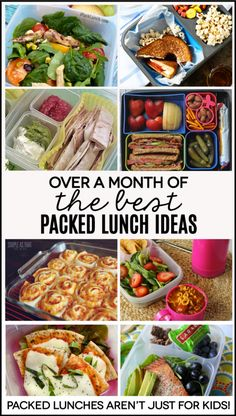 a Month of the Best Packed Lunch Ideas Over a month's worth of packed lunch ideas - perfect for work! Because lunches aren't just for kids.Over a month's worth of packed lunch ideas - perfect for work! Because lunches aren't just for kids. Lunch Snacks, Lunch Recipes, Healthy Snacks, Healthy Eating, Cooking Recipes, Healthy Recipes, Healthy Cold Lunches, Detox Recipes, Cooking Ham