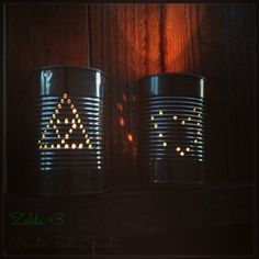 createbellacreate: Tin Can Luminaries Eco Friendly Craft for Kids Tin Can Crafts Summer crafts for kids