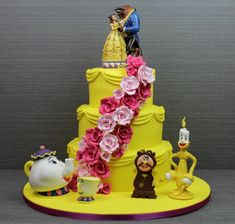 Beauty And The Beast Wedding Cake Beauty and the beast wedding