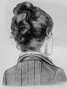 Elizabeth learns that married women should wear their hair up....