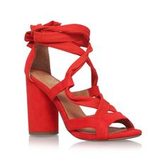 Mia Orange High Heel Sandals from KG Kurt Geiger