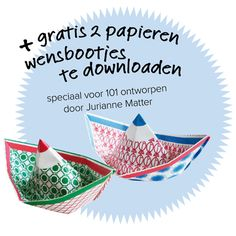 free download 101woonideeen: special 101 wishboats made by dutch paperdesigner jurianne matter
