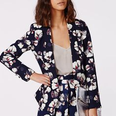 Blossom into Street Chic with These Floral Blazers