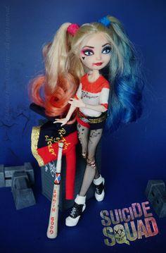 Margot Robbie/ Suicide Squad Harley Quinn OOAK doll by Handmade from Ooak Tree